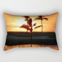 Beautiful Sunset Rectangular Pillow