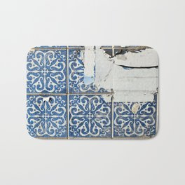 dirty azulejos Bath Mat