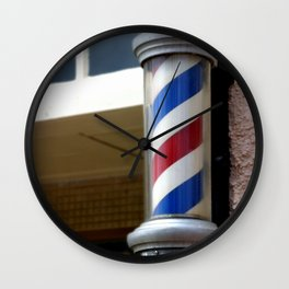 Barber Sign Wall Clock