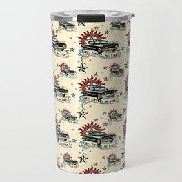 The Road So Far Vintage Travel Mug