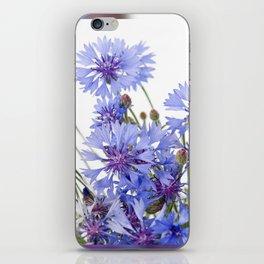 Cornflower and chamomile many flowers iPhone Skin