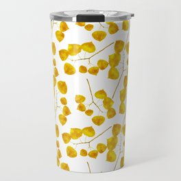 Gold Leaf Art Travel Mug