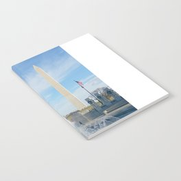 washington monument photography art Notebook