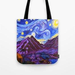 Maui Starry Night Tote Bag