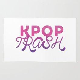 kpop trash Rug