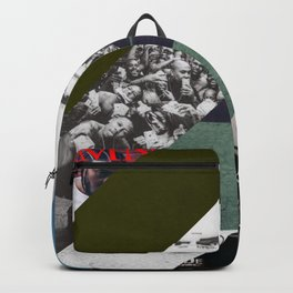 Kendrick lamar cover collage Backpack
