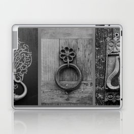 door knockers Laptop & iPad Skin