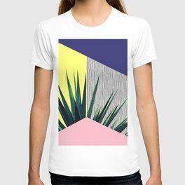 Geometric Leaves T-shirt