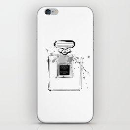 Black Perfume iPhone Skin