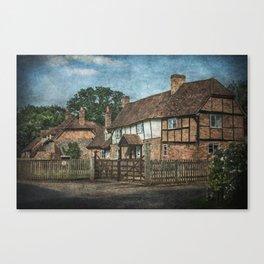 An Oxfordshire Village Canvas Print