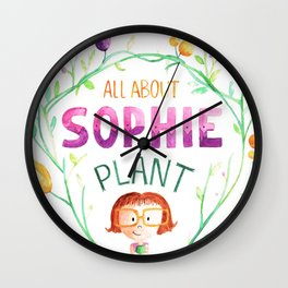 All about sophie Wall Clock