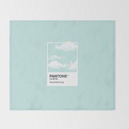 Pantone Series – Daydreaming Throw Blanket