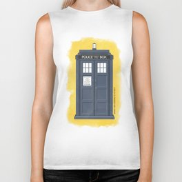9th Doctor - DOCTOR WHO Biker Tank