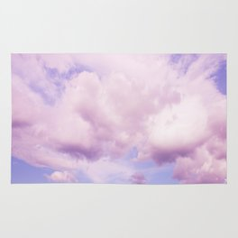 Pink Clouds In The Blue Sky #decor #society6 #buyart Rug