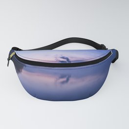 Tranquil blue nature Fanny Pack