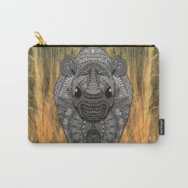 Ornate Rino Carry-All Pouch