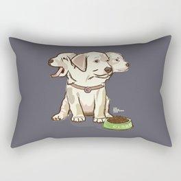 Cerberus Puppy Rectangular Pillow