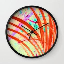 Fronds Go Wild Wall Clock