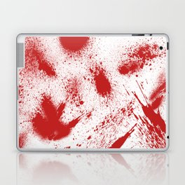 Bloody Blood Spatter Halloween Laptop & iPad Skin