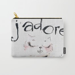 J`adore cat Carry-All Pouch