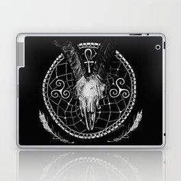 Goat Skull Dreamcatcher Laptop & iPad Skin