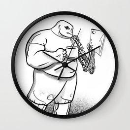 Robo-butcher Wall Clock