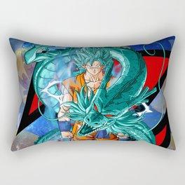Dragon Ball Super Goku Super Saiyan Blue Rectangular Pillow