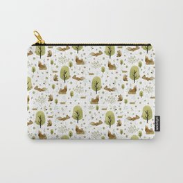 Squirrels in the forest Carry-All Pouch