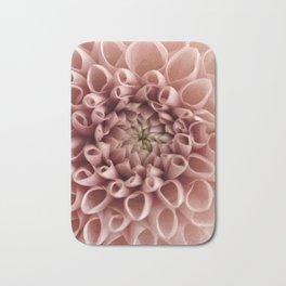 Blush Pink Flower Bath Mat