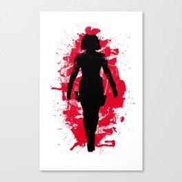Black Widow (Natasha Romanoff) Canvas Print