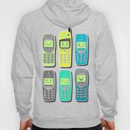 Vintage Cellphone Pattern Hoody