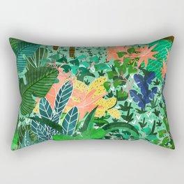 Dense Forest Rectangular Pillow
