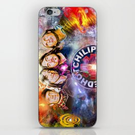 The Chili Peppers Painted iPhone Skin
