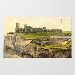 Vintage Photo-Print of Kingsgate Castle (1900) Rug