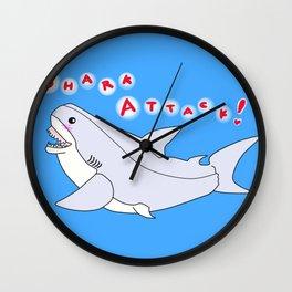 Shark Attack! Wall Clock