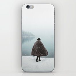Dancing in the Snow iPhone Skin