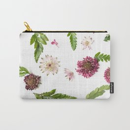 Scattered Blooms Carry-All Pouch