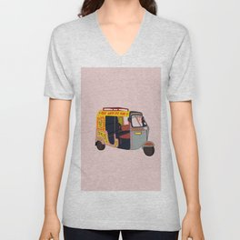 Ride with the Mob Unisex V-Neck