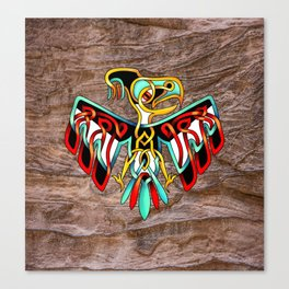 Thunderbird-knot Canvas Print