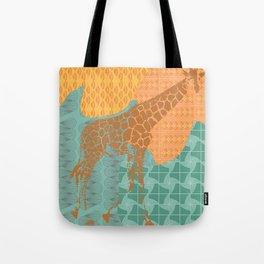 Gentle Giraffe  Tote Bag