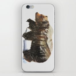Arctic Grizzly Bear iPhone Skin