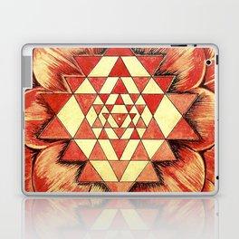 From the Heart of Devi - Sri Chakra Laptop & iPad Skin