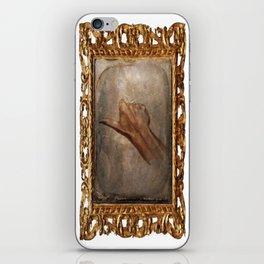 Daguerreotype Thumbs Up iPhone Skin