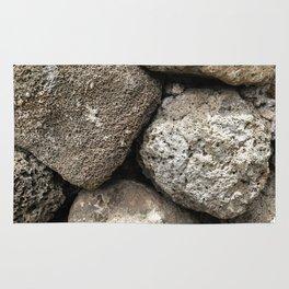 Lava Rock Wall Rug