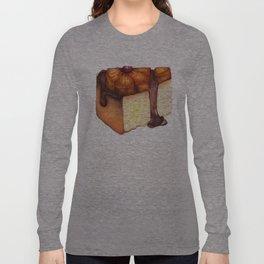 Pineapple Upside-Down Cake Slice Long Sleeve T-shirt