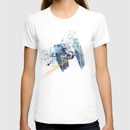 TIE FIGHTER #BLUE T-shirt