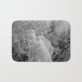 film photograph taken with crown graphic 4x5 camera Bath Mat