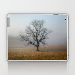 In a Fog - Mystical Morning in the Great Smoky Mountains Laptop & iPad Skin