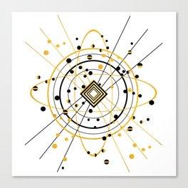 Complex Atom Canvas Print