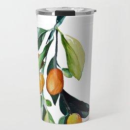 Kumquat may Travel Mug